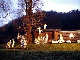 La crèche de Kryštofovo údolí, photo: Archives de Radio Prague