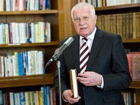 Václav Klaus, photo: Filip Jandourek / Czech Radio