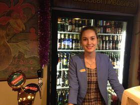 Менеджер ресторана Карина, Фото: Катерина Айзпурвит, Чешское радио - Радио Прага