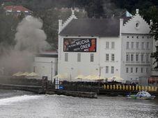 Пожар в Музее Кампа, фото: ЧТК / AP / Петр Давид Йосек