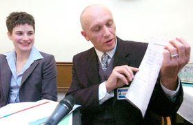 Владимир Грубы, представитель Лиги геев и лесбиянок (Фото: ЧТК)
