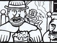 Klepáček, dibujo de Tadeáš Petr