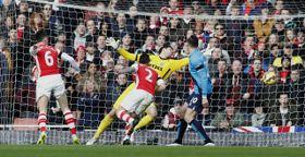 Arsenal - Stoke, photo: CTK