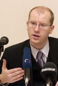 Ministro de Finanzas, Bohuslav Sobotka, Foto: CTK