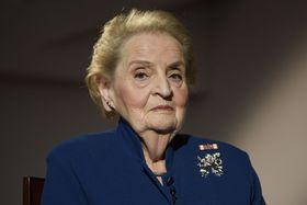 Madeleine Albright, photo: ČTK/Ondřej Deml