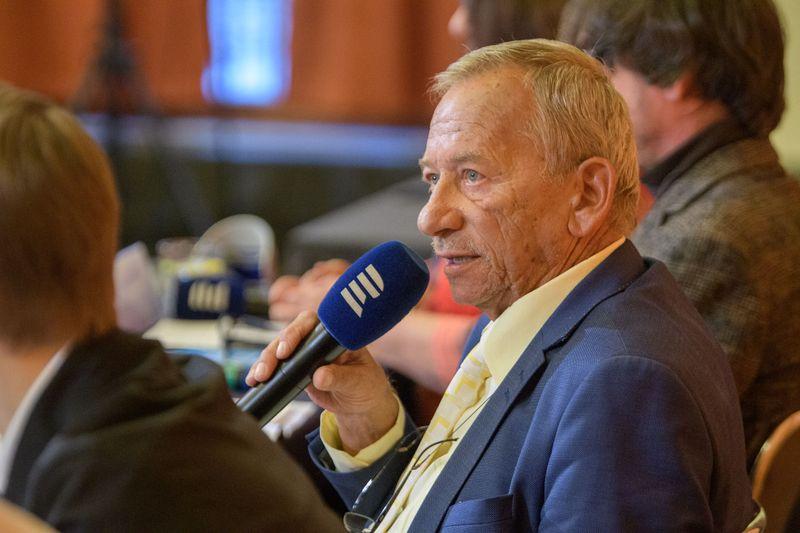 Jaroslav Kubera (Foto: Khalil Baalbaki, Archiv des Tschechischen Rundfunks)