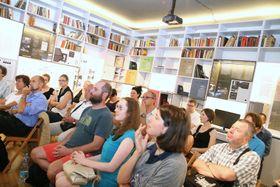 Autorenlesung im Prager Literaturhaus (Foto: Petr Buček, Archiv des Prager Literaturhauses)