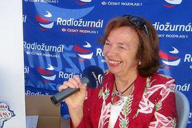 Livia Klausová (Foto: Petra Sklenářová, Archiv des Tschechischen Rundfunks)