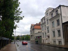 Улица Libušina и Коваржовицова вилла (Фото: Олег Фетисов)