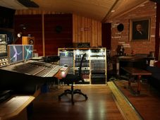 Blue studio, photo: archive of Studio Faust Records