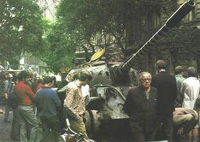 La place Venceslas, août 1968