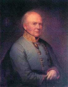 Граф Карл Людвиг фон Фикельмон (1777-1857). Портрет работы Антона Айнсле, Вена, 1848, фото: открытый источник
