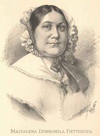 Magdalena Dobromila Rettigová, foto: Wikipedia, free domain