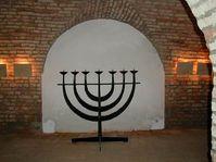 Jüdische Mennora in Terezin