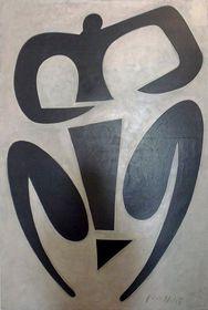 Rytmus, 1959, olej, 150x100, foto: Miroslav Krupička