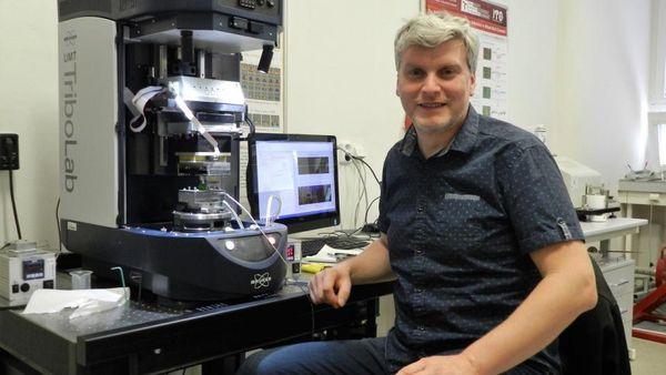 Martin Vrbka, photo: archive of Brno University of Technology