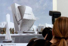 Модель нового музея Сальвадора Дали в Праге (Фото: ЧТК)