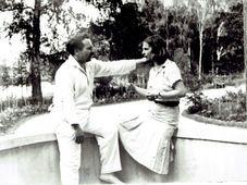 Супруги Аросевы, 1937 г., фото: Последний адрес