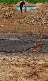 Archeologické práce na nalezišti vPříšovicích, foto: ČTK