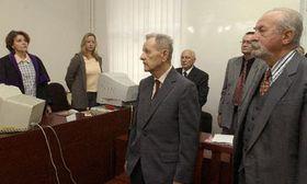 Милоуш Якеш (налево) и Йозеф Ленарт (Фото: ЧТК)