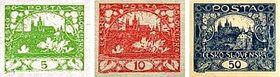Los sellos postales de Alfons Mucha