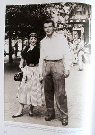 Miloš Forman et Sophie Sel, photo: repro Petr Jiras, Miloš Forman / Ottovo nakladatelství