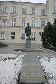 Zdeněk Nejedlý statue in Litomyšl, photo: Petr1888, CC BY-SA 3.0