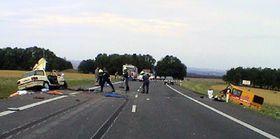 В городе Свитавы на месте погибло 6 человек (Фото: ЧТК)