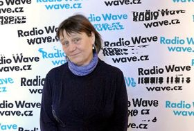 Anna Šabatová, photo: Radio Wave