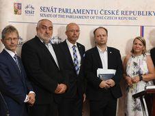 Le Sénat tchèque a voté en faveur de poursuites contre le président Miloš Zeman pour violation présumée de la constitution du pays, entre autres parce qu'il a refusé de nommer un ministre, photo: ČTK/Ondřej Deml