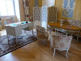Le cabinet de travail de Casanova, photo: Klára Stejskalová