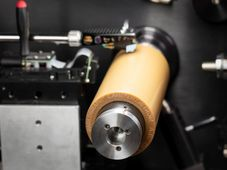 Le cylindre phonographique avec l'enregistrement de la voix du président Masaryk, photo: Musée national