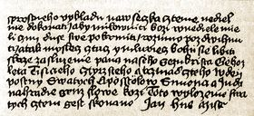 Manuscrito de Jan Hus