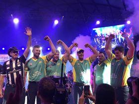 L'équipe australienne victorieuse, photo: Camille Montagnon