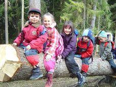 Лесный детский сад (Фото: Петра Чехурова, Чешское радио)