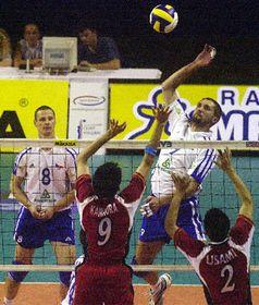 Los voleibolistas checos derrotaron a la selección de voleibol japonesa 3 a 0, foto: CTK
