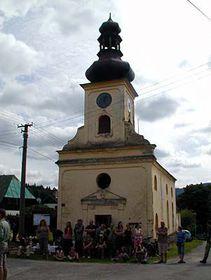 Maria Hilf-Kapelle in Červená / Rothsaifen