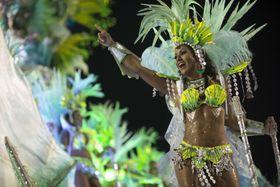 Carnival parade in Rio de Janeiro, photo: CTK