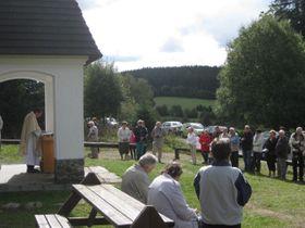 Gottesdienst in Zhůří (Foto: Martina Schneibergová)