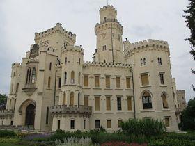 Castillo de Hluboká, foto: Martina Schneibergová