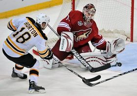 Phoenix Coyotes - Boston Bruins, photo: CTK