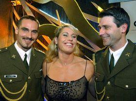 Roman Sebrle, Vera Pospisilova and Jan Zelezny, photo: CTK