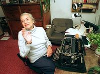 Lenka Reinerová, photo: CTK