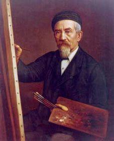 Gottfried Lindauer, autoportrét