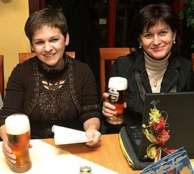 Věra Jakubková (vlevo) aOlga Zubová, foto: ČTK