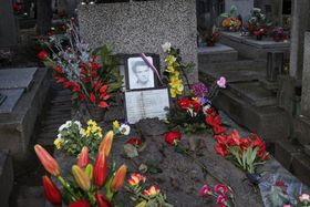 Jan Palach's grave, photo: archive of Czech Government