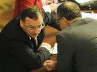 Petr Nečas et Miroslav Kalousek, photo: CTK