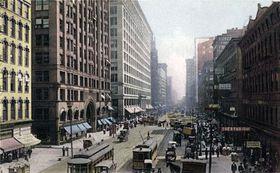 Чикаго, 1907 г., Фото: открытый источник