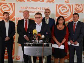 ČSSD, photo: Site officiel du Parti social-démocrate