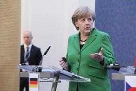 Канцлер Германии Ангела Меркель подчеркивает, что «экономические мигранты не могут остаться в Европе» (Фото: Архив Правительства ЧР)